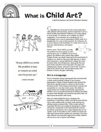 early childhood play articles