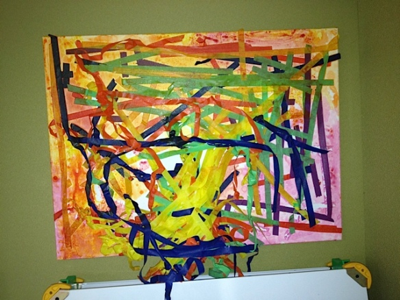 Elements Of Art Painting : Preschool painting art & creativity in early childhood education