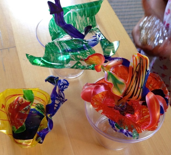 Anna Chihuly Shrink Art Lead